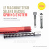 223 SILENT RECOIL SPRING SYSTEM