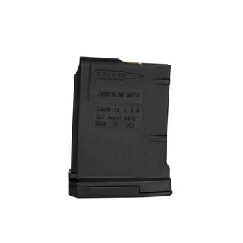 .223/556 Winchester 10 Rd Magazine, Black