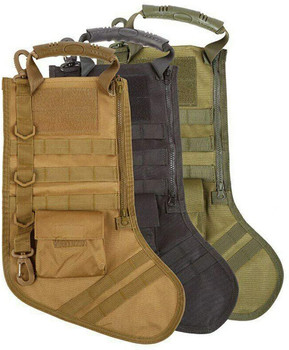 TACTICAL HOLIDAY CHRISTMAS STOCKING