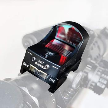 Red Dot Gun Scope Reflex Sight with 20mm Rail