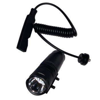 Tactical Flashlight with Picatinny Rail Mount