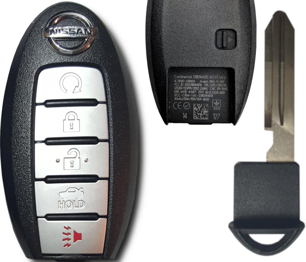 Nissan Altima 7812D-S180014 , S180144020 KR5S180144014 7812D-S180014 Key - Prox Smart
