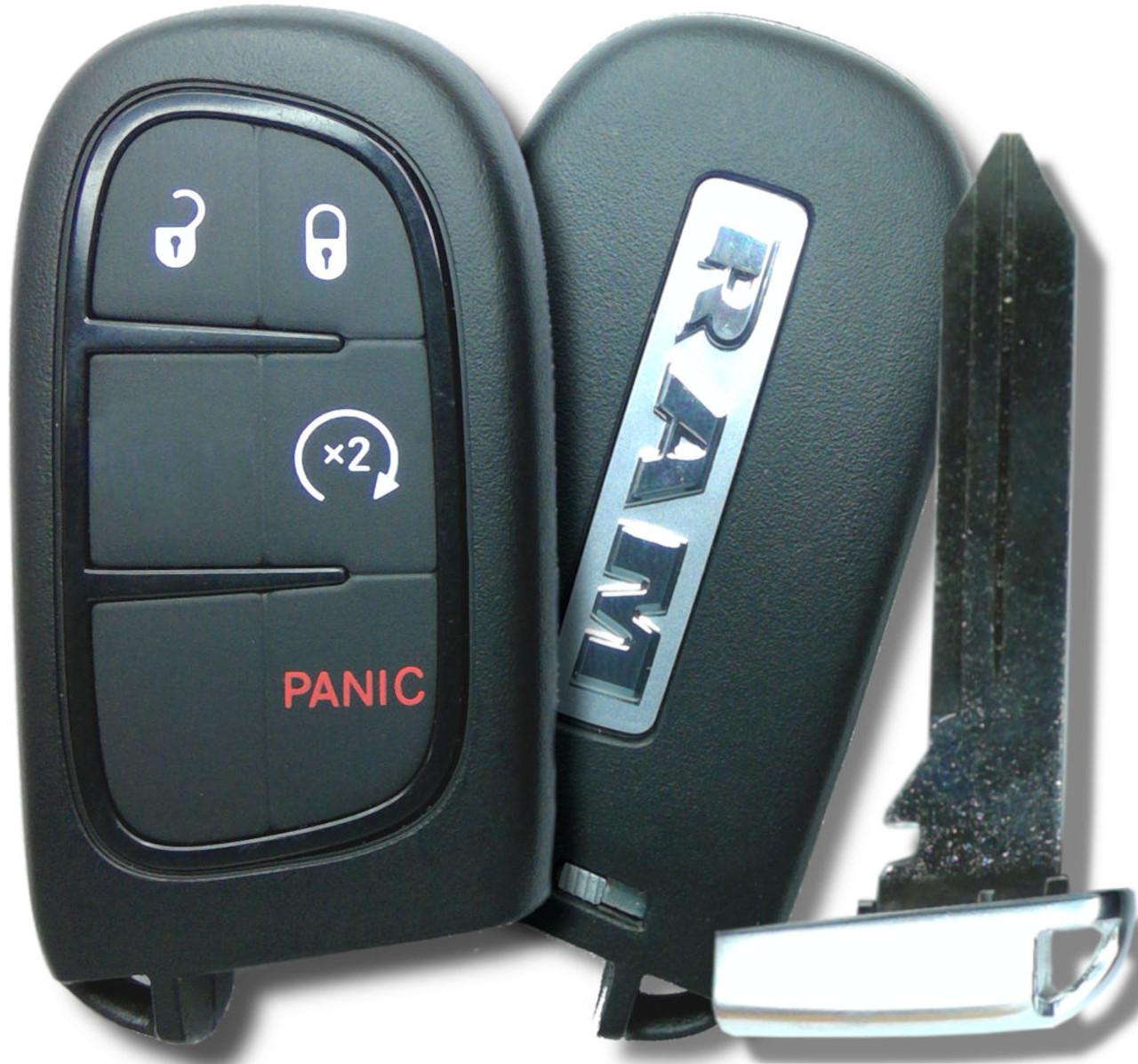 RAM Ram 1500 , Ram 3500 , Ram 2500 56046956 GQ4-54T 1470A-35T Key - Prox Smart