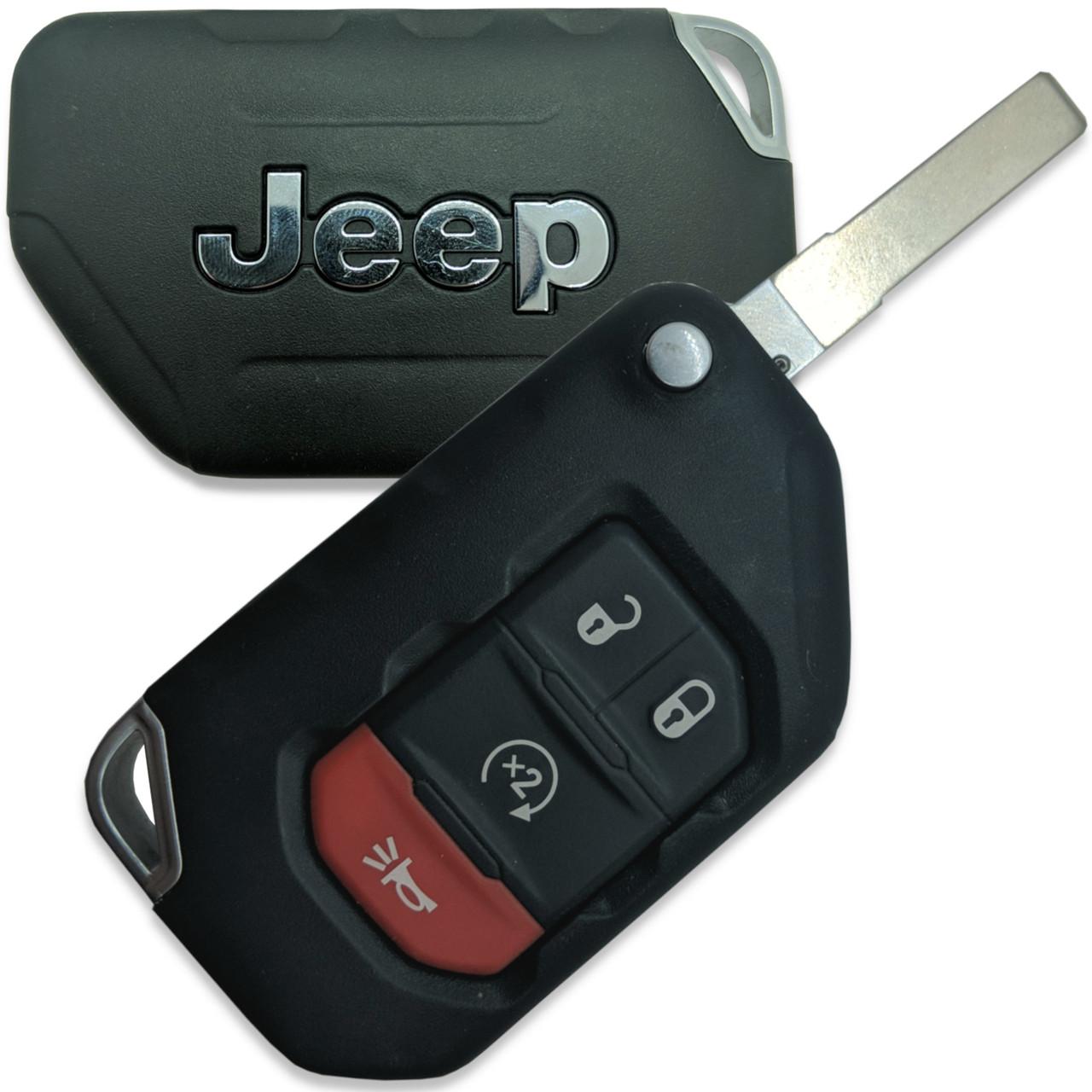 Jeep Wrangler , Gladiator , Wrangler JK 68292944AA , OHT1130261 OHT1130261 6461A-1130261 Key - Prox Smart