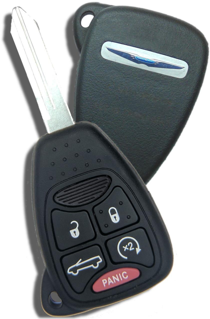 Chrysler 5 button Sebring convertible Key OEM 2007 2008 2009 2010 2011 2012 2013
