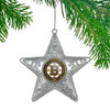 Boston Bruins NHL Sports Collectors Series Silver Star Ornament