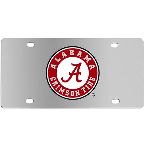 Alabama Crimson Tide NCAA Steel License Plate