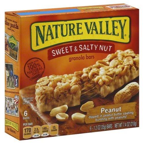 Nature Valley Sweet & Salty Peanut Granola Bar