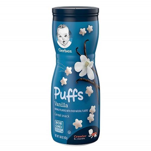 Gerber Puffs Vanilla Cereal Snack