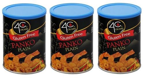 4c Crumbs Gluten Free Panko Plain 3 Pack