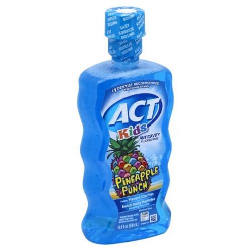ACT Kids Anti-Cavity Pineapple Punch Fluoride Mouthwash