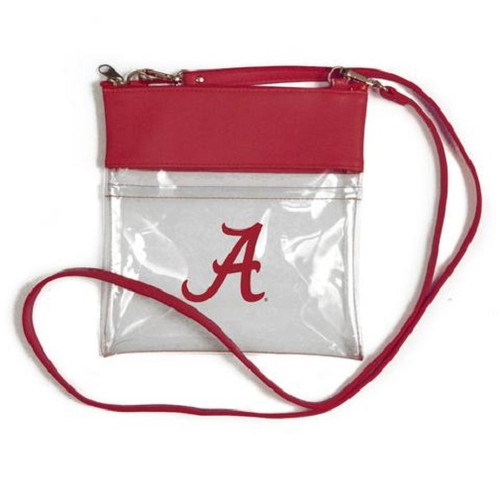 Alabama Crimson Tide NCAA Clear Gameday Crossbody Purse