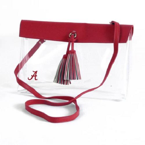 Alabama Crimson Tide NCAA Desden Rara Clear Purse