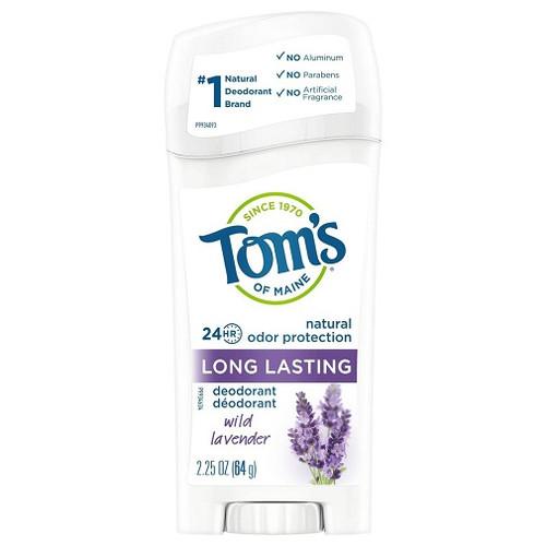 Tom's of Maine Natural Long Lasting Deodorant Wild Lavender