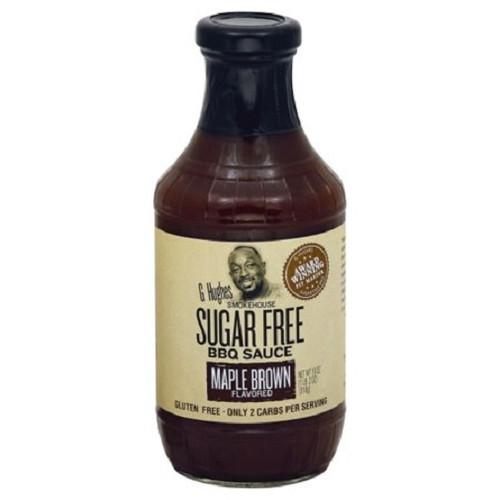 G Hughes Smokehouse Sugar Free Maple Brown Sugar BBQ Sauce