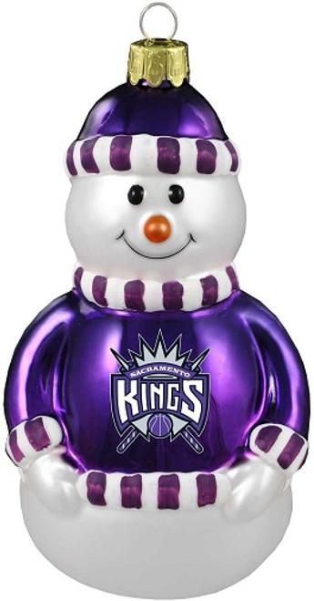 Sacramento Kings NBA Snowman Ornament