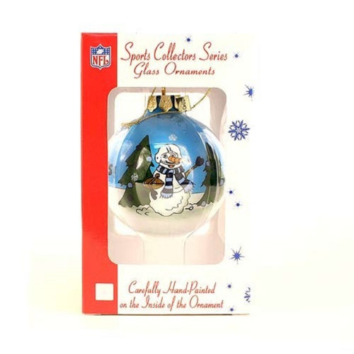 Tennessee Titans NFL Hand Painted Ornament