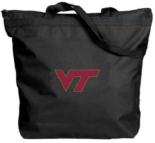 Virginia Tech Hokies NCAA Zipper Tote Bag
