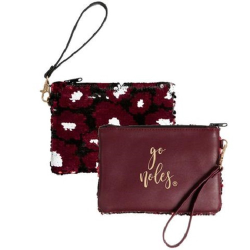 Florida State Seminoles NCAA Claire Sequin Clutch