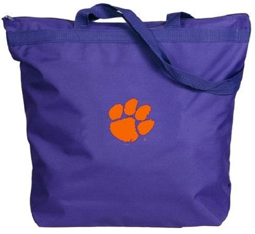 Clemson Tigers NCAA Zipper Tote Bag
