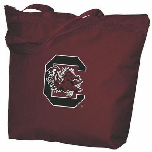 South Carolina Gamecocks NCAA Zipper Tote Bag