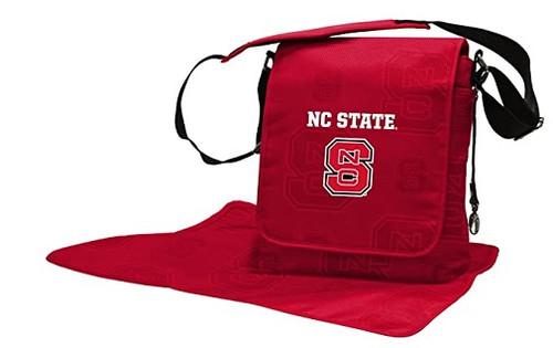 NC State Wolfpack NCAA LilFan Diaper Messenger Bag