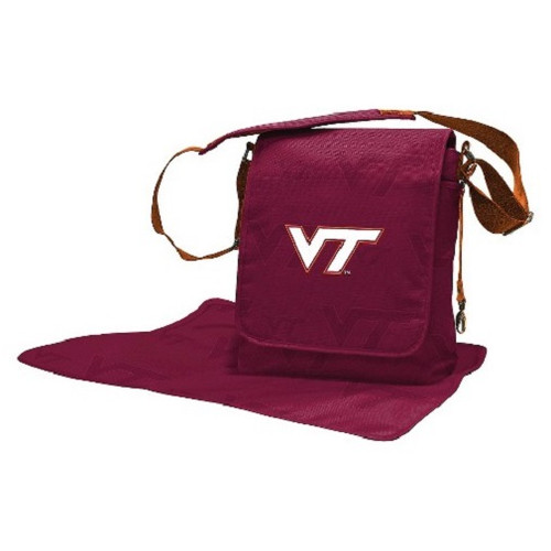 Virginia Tech Hokies NCAA LilFan Diaper Messenger Bag
