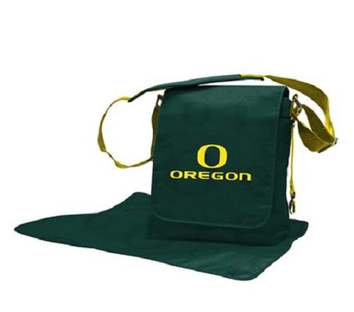 Oregon Ducks NCAA LilFan Diaper Messenger Bag