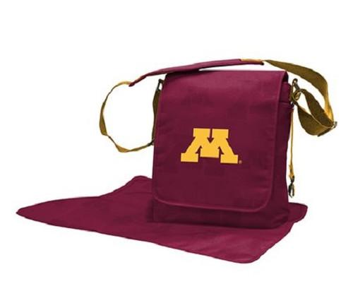 Minnesota Golden Gophers NCAA LilFan Diaper Messenger Bag