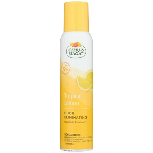 Citrus Magic Odor Eliminating Tropical Lemon Air Freshener