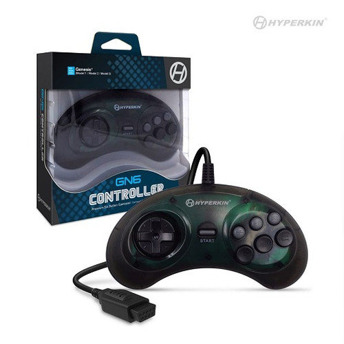 GN6 Premium Controller For Genesis (Space Black) - Hyperkin