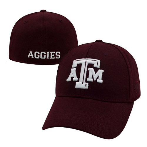 Texas A&M Aggies NCAA TOW Premium Collection Memory Fit Hat