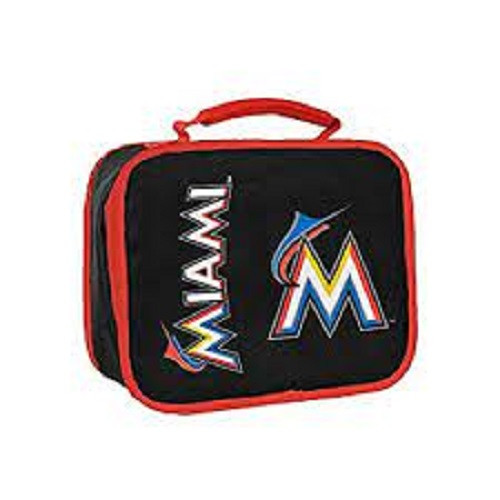 Miami Marlins MLB Insulated Lunch Bag
