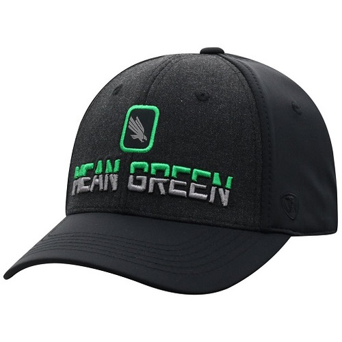 North Texas Mean Green NCAA TOW Tag Stretch Fitted Hat