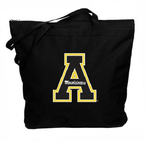 Appalachian State Mountaineers NCAA Zipper Tote Bag