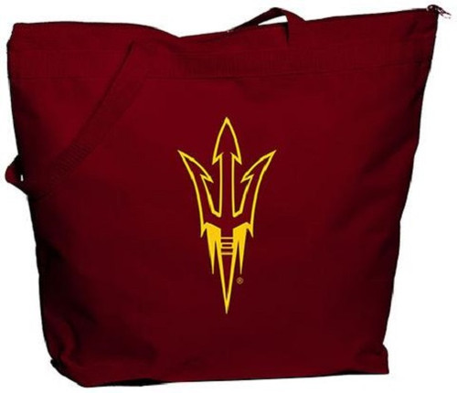 Arizona State Sun Devils NCAA Zipper Tote Bag