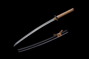 Ronin Katana clay tempered samurai sword model #11