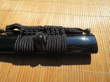 Dojo Pro Saya - Black with Black Horn