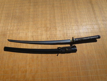 Ronin Elite Katana #294- Japanese Fittings and Silk