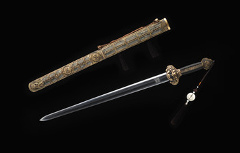 Chinese jian forged from meteorites.