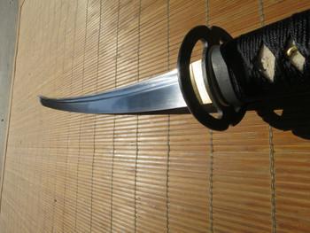Ronin katana wakizashi #3 with Musashi tsuba