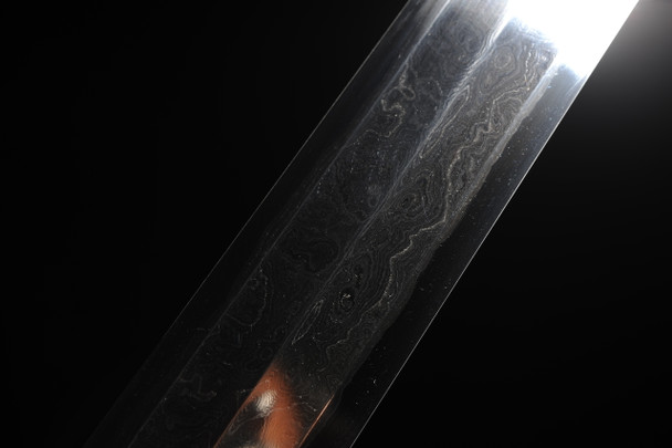 Sword blade forged from meteorites.