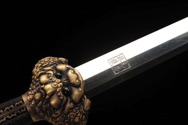 Light of Heaven - Chinese Jian Forged From Meteorites
