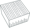 Icon of natural latex