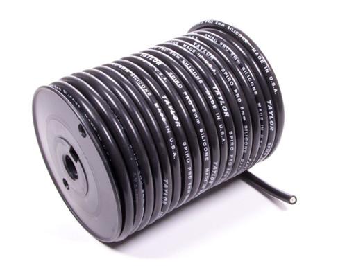 100' Spool 8mm Black Spiro Wound Plug Wire