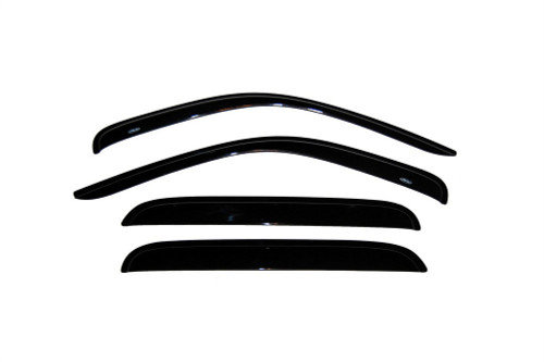 00-04 Dodge Dakota Quad Cab Ventvisor 4pc