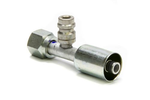 #8 Straight Beadlock O-Ring Fitting w/Port