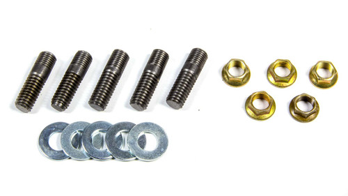 3/8-24 Rotor Stud Kit w/Nuts & Washers (5pk)