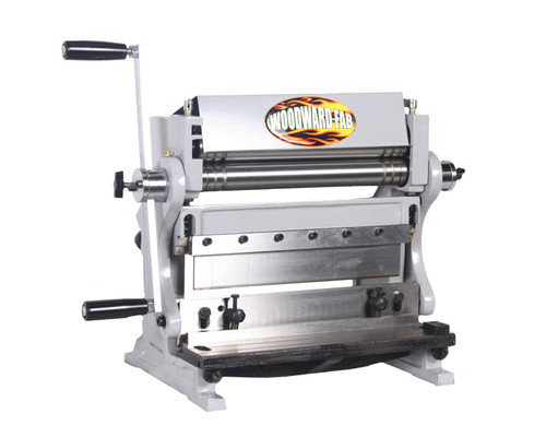 12in Bend-Roll-Shear All In One Machine