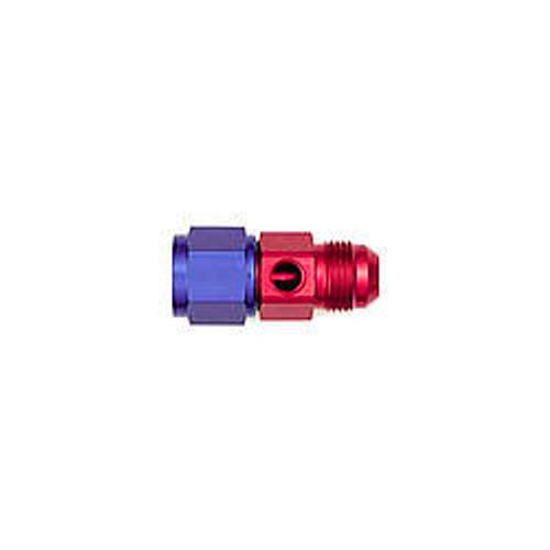 #8 to #8 Fem Fuel Press Adapter w/ 1/8 NPT Port